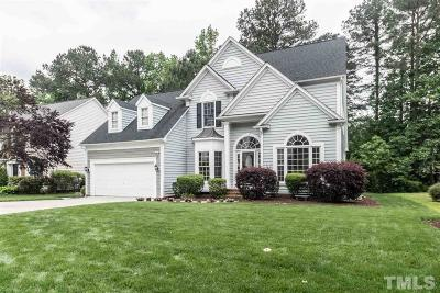 Cary Single Family Home Contingent: 104 Hidden Rock Court