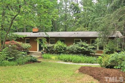 Durham County Single Family Home For Sale: 2732 Dogwood Road