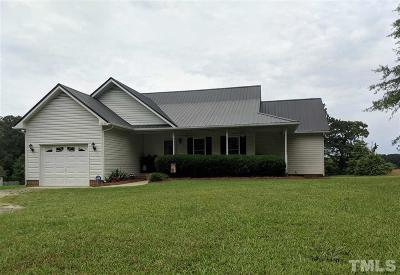 Sanford NC Single Family Home Pending: $144,000