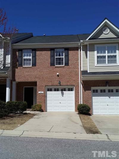 Apex Rental For Rent: 107 Fanwood Court