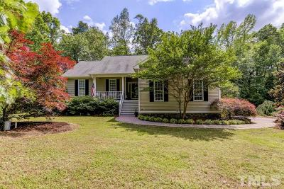 Hillsborough Single Family Home Contingent: 2807 Ode Turner Road