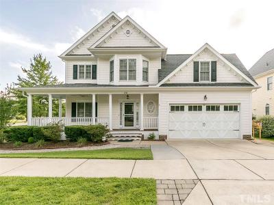 Wake Forest Single Family Home For Sale: 1701 Heritage Garden Street