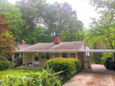 Wake County Single Family Home Contingent: 1708 Carson