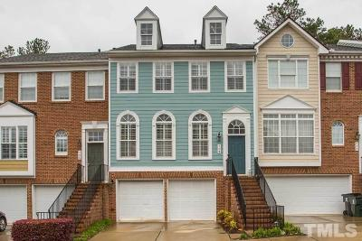 Morrisville Townhouse For Sale: 704 Kirkeenan Circle
