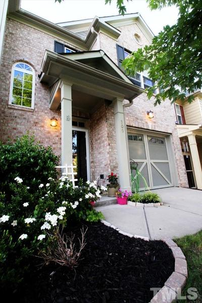 Apex Townhouse For Sale: 309 Presenteer Trail