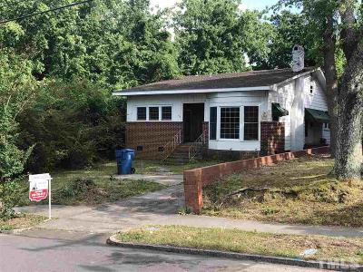 Durham Single Family Home For Sale: 604 Dupree Street