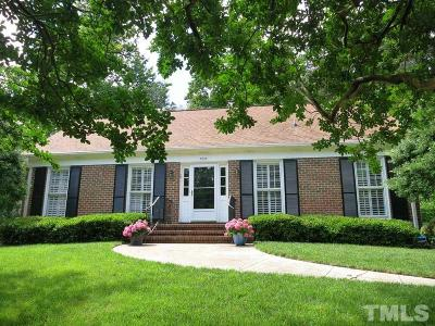 Raleigh Single Family Home Contingent: 5215 Knollwood Road