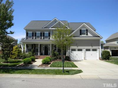 Raleigh Single Family Home Contingent: 2807 Country Charm Road