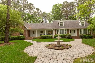 Raleigh Single Family Home For Sale: 2400 Sunnystone Way