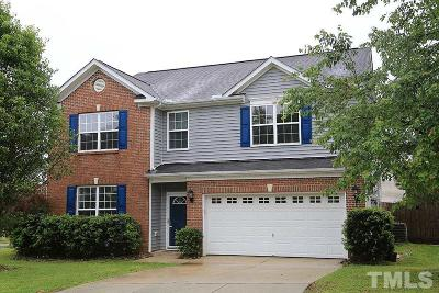 Durham Single Family Home Contingent: 12401 Ashe Ridge Lane