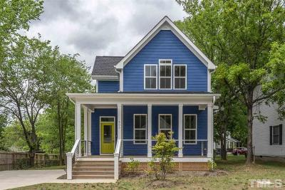 Durham County Single Family Home For Sale: 505 Dowd Street