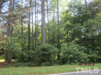 Granville County Residential Lots & Land Pending: 4026 W Antioch Road