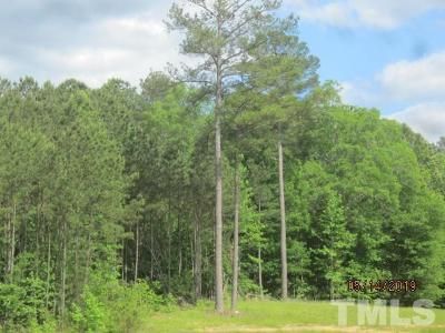 Granville County Residential Lots & Land For Sale: W Antioch Road