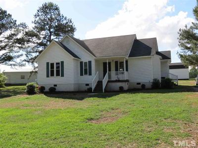 Angier Single Family Home For Sale: 695 Young Road