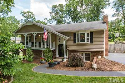 Cary Single Family Home For Sale: 806 Roanoke Drive