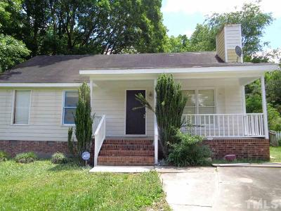 Knightdale Single Family Home Contingent: 104 Princess Crescen Crescent