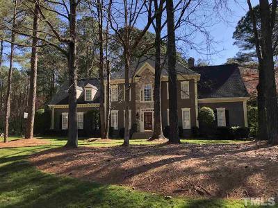 Raleigh Single Family Home For Sale: 4716 Sharpstone Lane