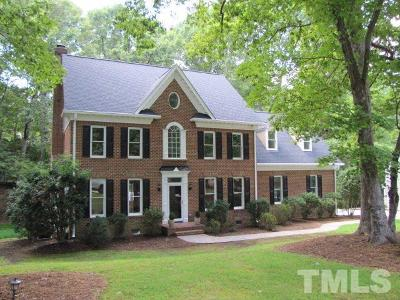 Raleigh Single Family Home For Sale: 10601 Leslie Drive