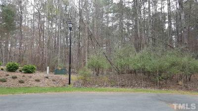 Chatham County Residential Lots & Land For Sale: 0180 Craig Hill Lane