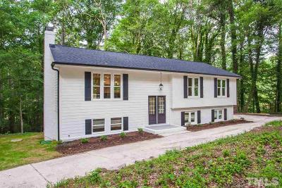 Raleigh Single Family Home For Sale: 8717 Lakewood Drive