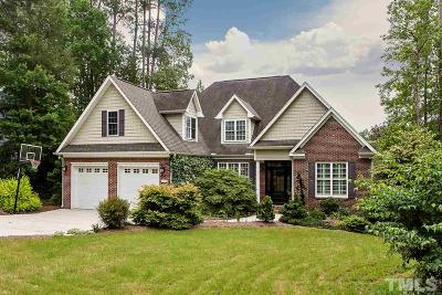 Chapel Hill Single Family Home Pending: 6809 Knotty Pine Drive