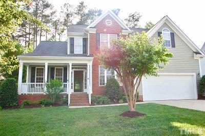 Wake Forest Single Family Home For Sale: 9737 Rainsong Drive