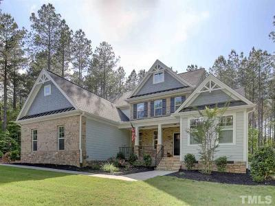 Pittsboro Single Family Home For Sale: 479 Colonial Ridge Drive