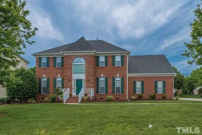Cary Single Family Home Contingent: 1014 Upchurch Farm Lane