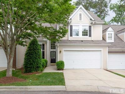 Cary NC Townhouse For Sale: $325,000
