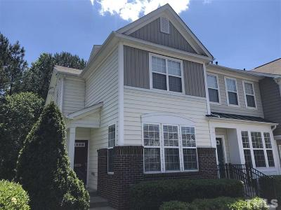 Raleigh Townhouse For Sale: 7661 Winners Edge Street
