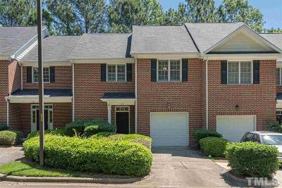 Holly Springs Townhouse Contingent: 140 Tuska Hills Drive
