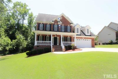 Clayton Single Family Home For Sale: 73 Avocet Lane