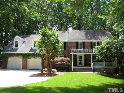 Raleigh Single Family Home For Sale: 7304 Tanbark Way