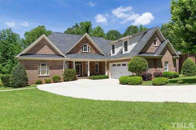 Garner Single Family Home For Sale: 136 Briar Rose Lane
