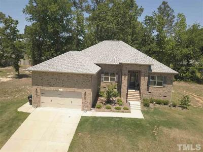 Angier Single Family Home For Sale: 190 Deep Clay Circle