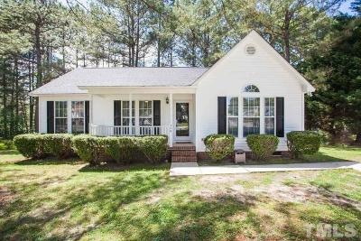 Knightdale Single Family Home Contingent: 506 Walbury Drive