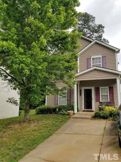 Raleigh Single Family Home Pending: 3611 Cyrus Street