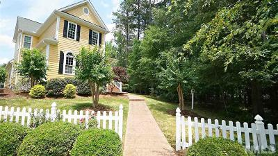 Raleigh Single Family Home For Sale: 1709 Rainbow Hill Way