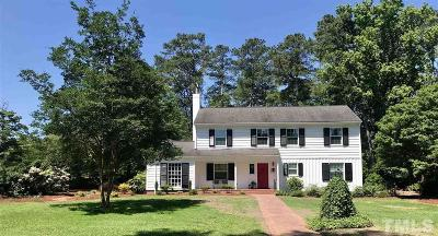 Smithfield Single Family Home Contingent: 726 Sunset Drive