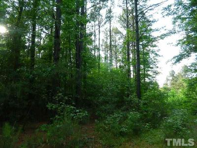 Franklin County Residential Lots & Land For Sale: Ronald Tharrington Road