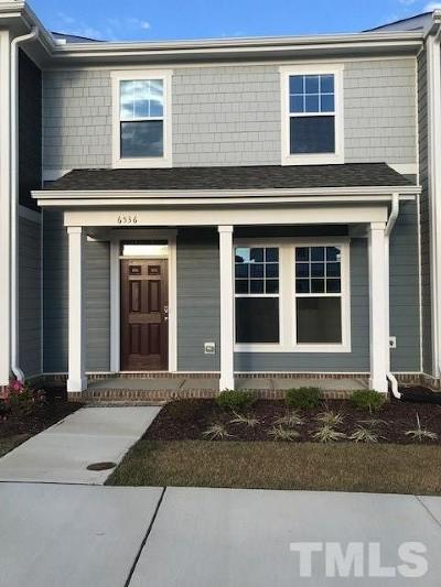 Raleigh Townhouse For Sale: 5527 Wallace Martin Way #1172