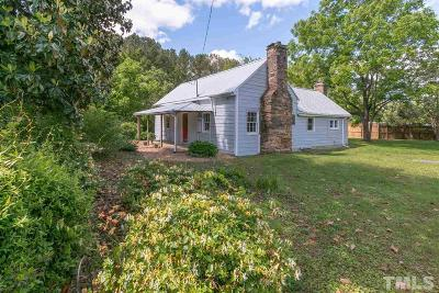 Wake Forest Single Family Home Contingent: 12801 Powell Road