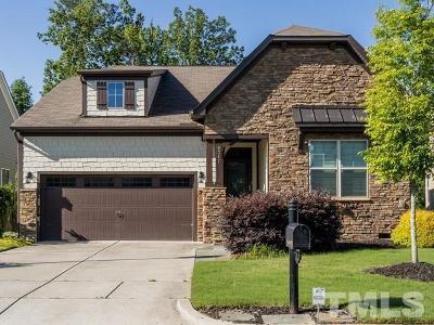 Apex Single Family Home For Sale: 5317 Moneta Lane
