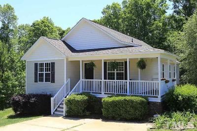 Fuquay Varina Single Family Home Contingent: 504 Joneshaven Drive
