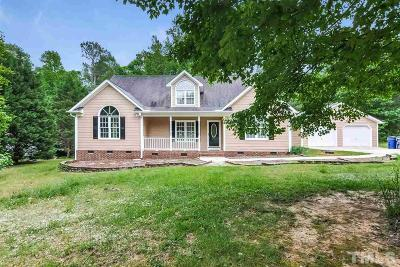 Garner Single Family Home For Sale: 246 Creek Drive