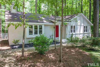 Cary Single Family Home For Sale: 615 Webster Street