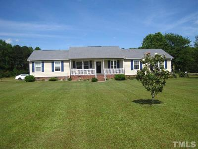 Harnett County Single Family Home For Sale: 291 Lane Road