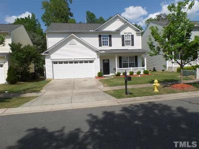 Holly Springs Single Family Home For Sale: 217 Jasper Point Drive