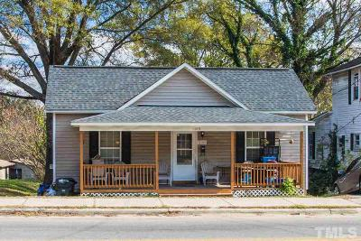 Raleigh NC Single Family Home For Sale: $315,000