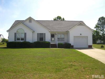 Harnett County Single Family Home For Sale: 123 Remington Drive